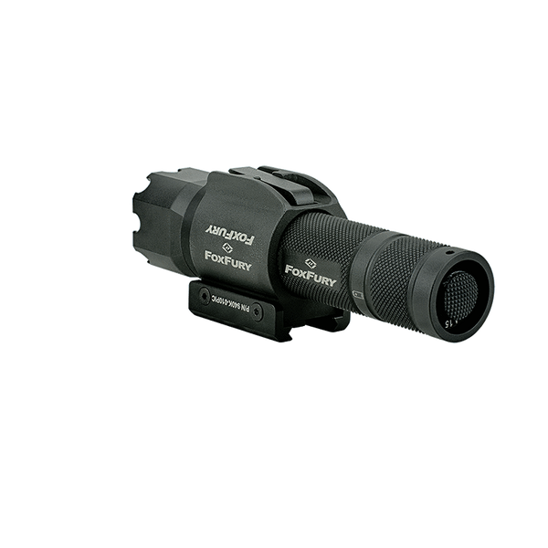FoxFury SideSlide Picatinny Weapon Light and Flashlight - combination flashlight and a weapon light delivers a powerful 380 lumens. Rugged light also has Turbo-Strobe™
