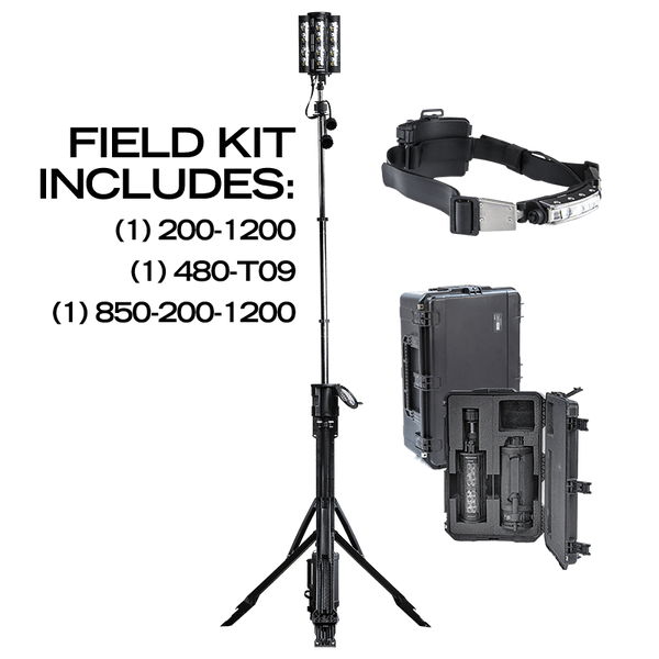 Nomad® Transformer® Field Kit - includes Discover Headlamp, Nomad® Transformer® Scene Light, and Case