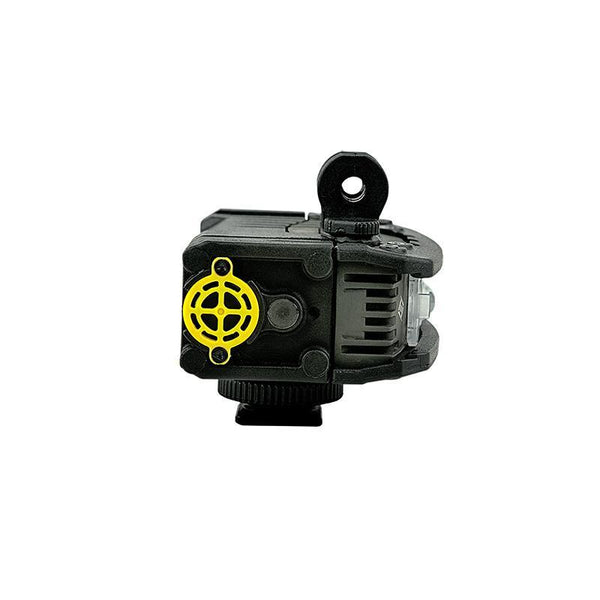 FoxFury Rugo Quick Swap™ Power Pack - rugged, go-anywhere power source for the RUGO LED light side view