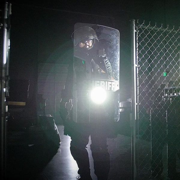 FoxFury Taker R40 Riot Shield Light - 650 Lumens, Rechargeable, Impact and Fire Resistant