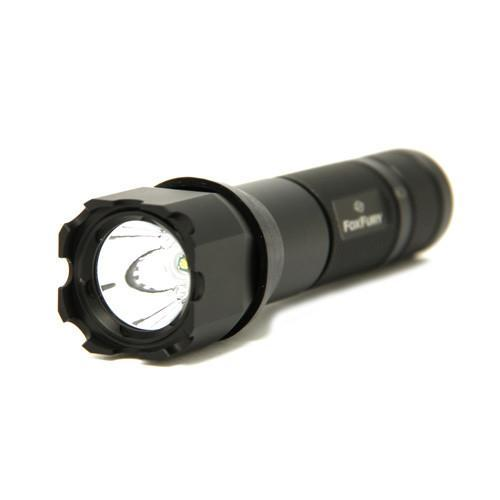 FoxFury SideSlide Bolt Side Mounted Helmet Light - is a combination of a flashlight and a helmet light. Versatile light also has a highly visible rear safety LED