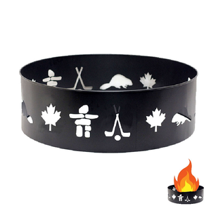 Cabin Comforts Fire Ring Canadiana 36 Inch
