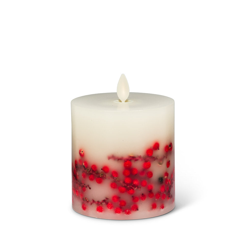 Reallite Candles - Red Berry Flameless 3.5