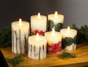 Reallite Candles - Twig Flameless 6""