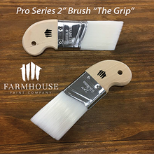 "Load image into Gallery viewer, Farmhouse Paint - Paint Brushes Pro Series 2"", ""The Grip"""