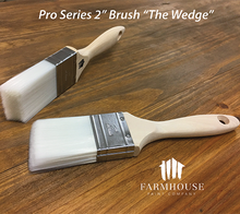 "Load image into Gallery viewer, Farmhouse Paint - Paint Brushes Pro Series 2"", ""The Wedge"""