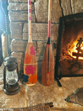 Load image into Gallery viewer, The Painted Paddle - Black, Red, Arrow 54""