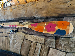 The Painted Paddle - Flower Power, 57""