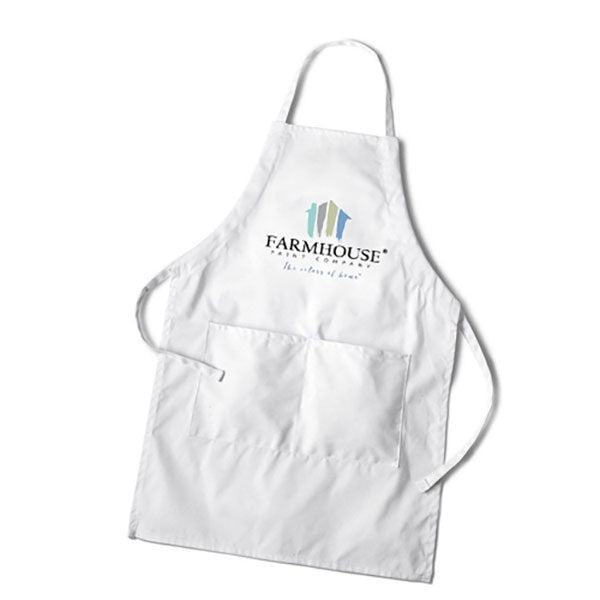 Farmhouse Paint Embroidered Apron