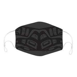 Reusable Face Mask by Francis Dick, Kwakwaka'wakw