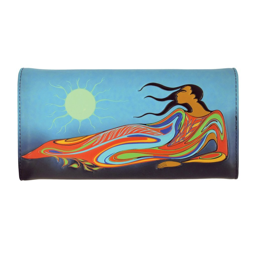 Faux Leather Wallet by Maxine Noel, Sioux