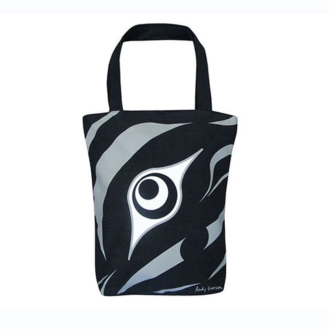 Limited Edition Eco Tote Bag by Andy Everson, K'ómoks/Kwakwaka'wakw
