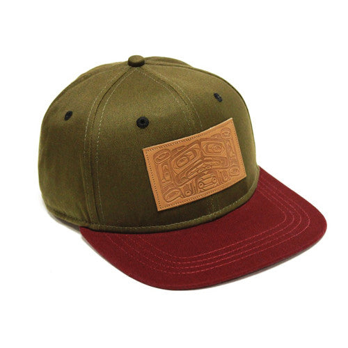 Snapback Bent Box Hat