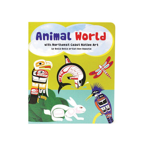Animal World - Children's Board Book