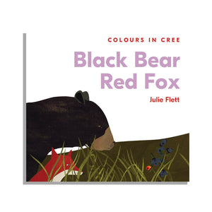 Black Bear Red Fox - Children's Board Book