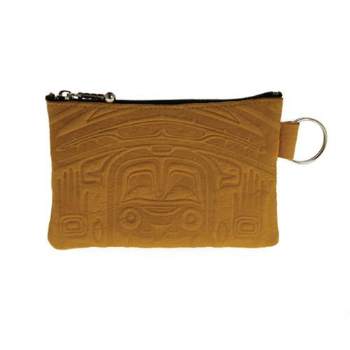 Deerskin Coin Purse by Clifton Fred, Tlingit