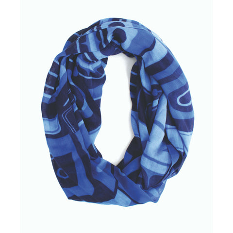 Bamboo Circle Scarf by Roger Smith, Haida