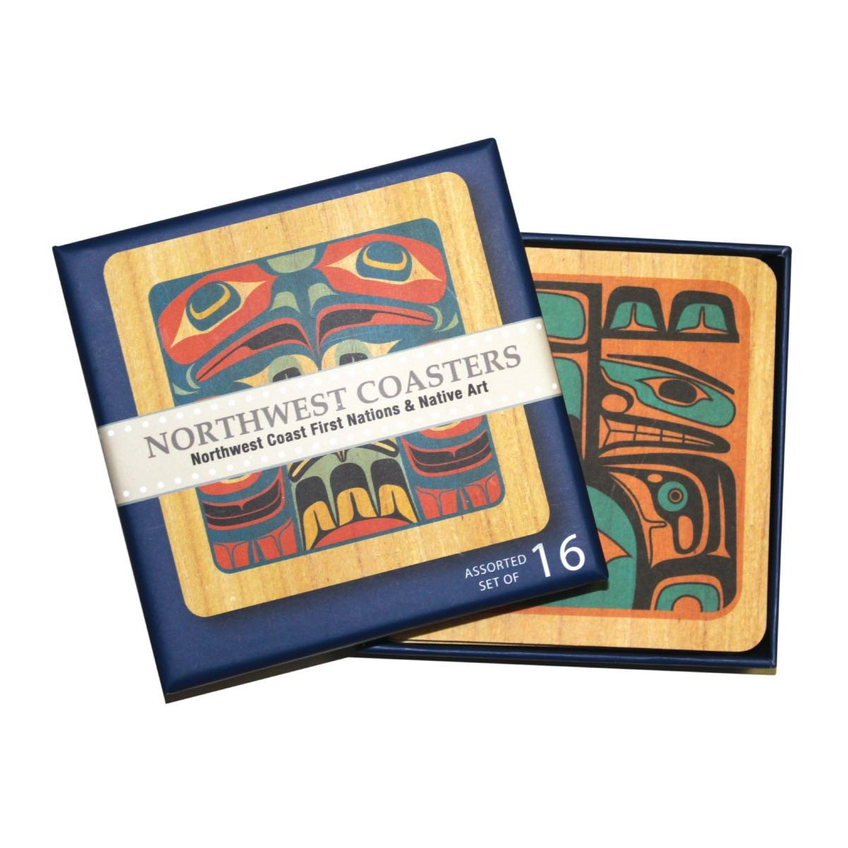 Square Northwest Coasters - Assorted Set