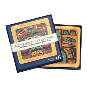 Pulp Board Square Coaster Set by Various Artists