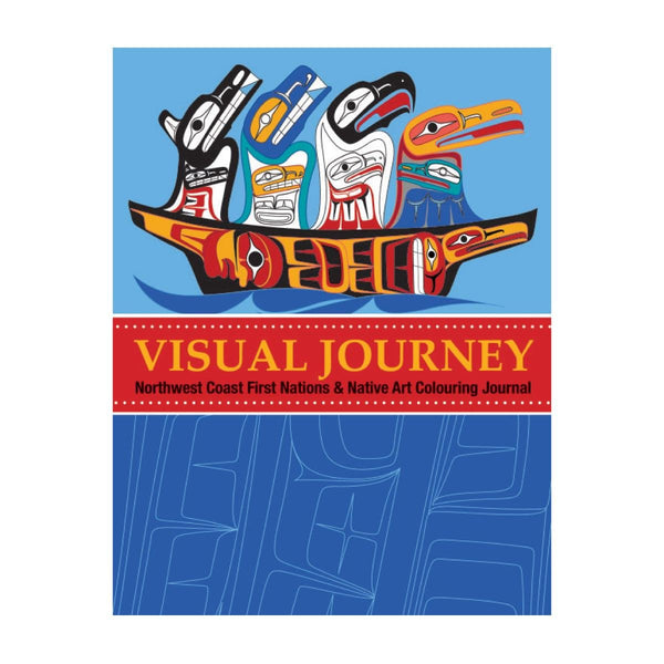 Visual Journey - Adult Colouring Book