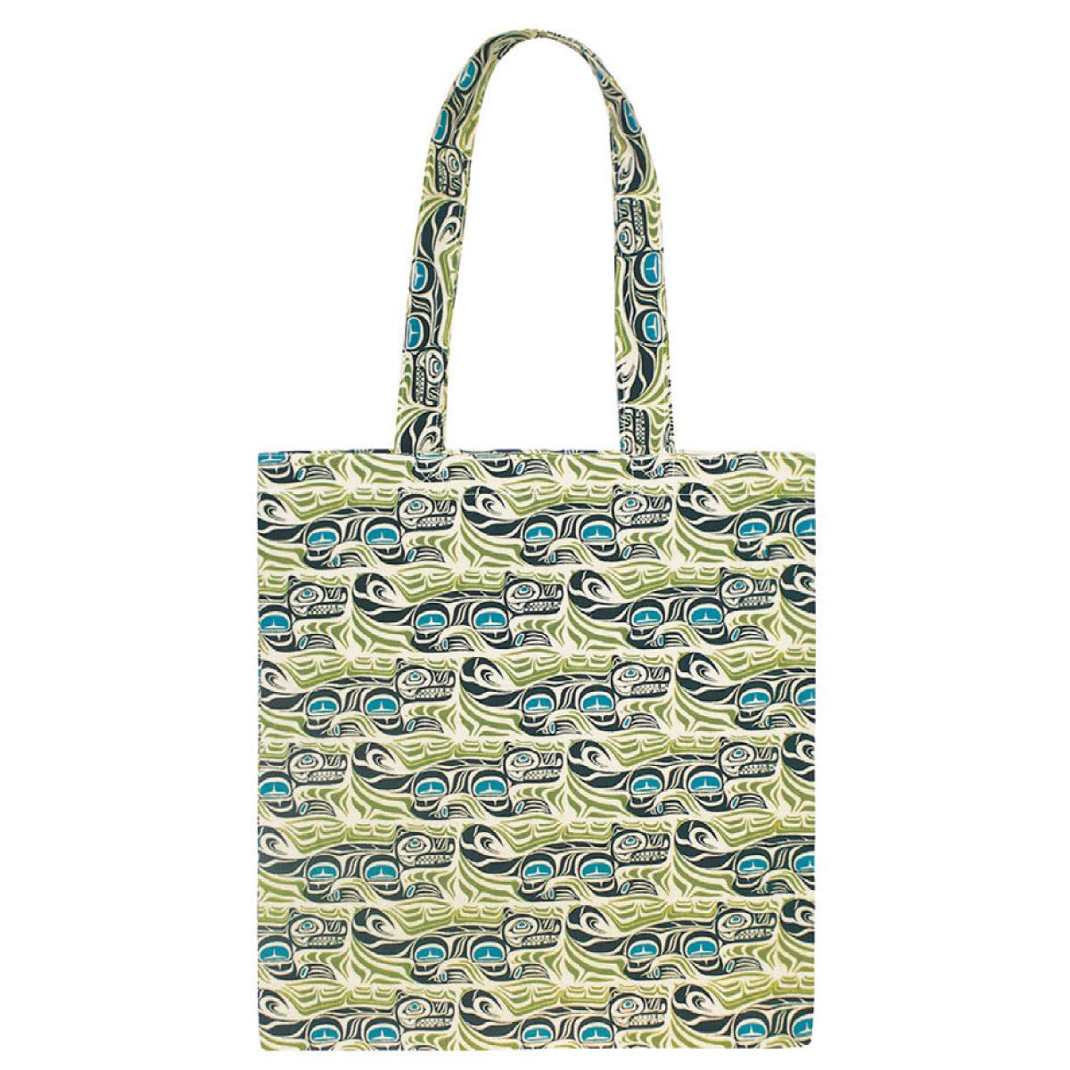 Cotton Eco Tote - Spirit Wolf