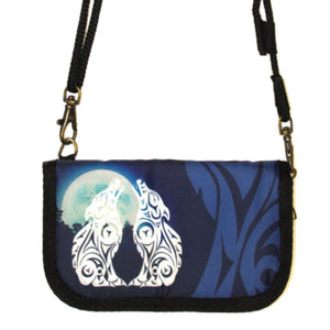 Crossbody Travel Wallet by Darrell Thorne, Coast Salish