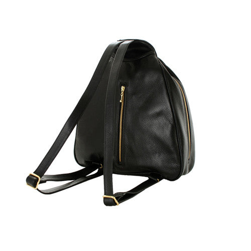 Leather Triangle Bag