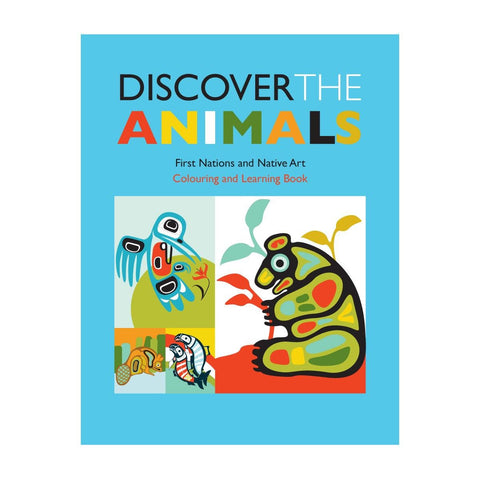 Discover The Animals - Children's Colouring Book
