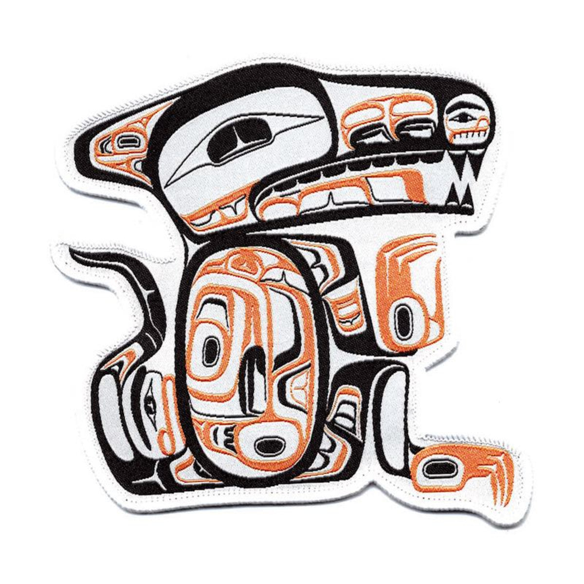 Large Embroidered Patch by Todd Stephens, Nisga'a