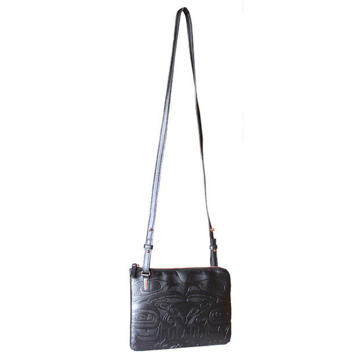Embossed Vegan Leather Bag by Ernest Swanson,  Haida