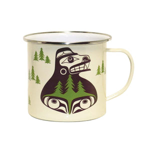 Bear the Tree Hugger - Enamel Mug