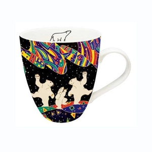 Fine China Artist Mug by Dawn Oman, Métis