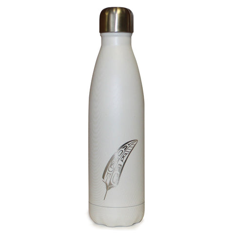 Gift of Honour - Medium White Wood Grain Bottle