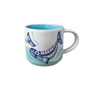Humpback Whale - White Ceramic Mug
