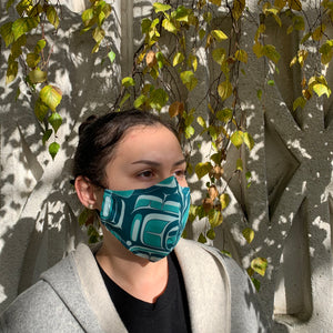 Cotton Face Mask by Chazz Mack, Bella Coola