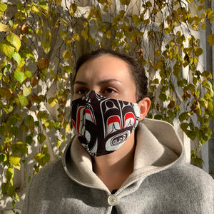 Cotton Face Mask by Allan Weir, Haida
