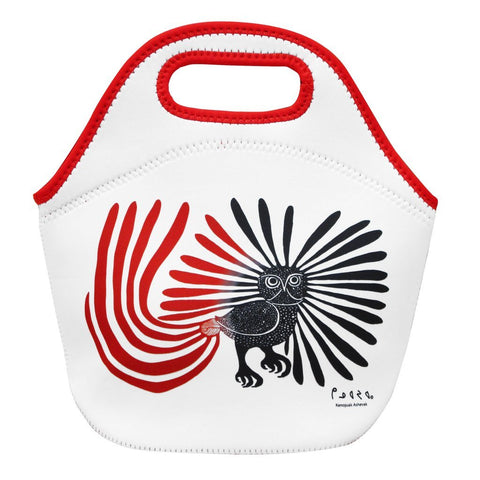 Insulated Lunch Bag by Kenojuak Ashevak, Inuit
