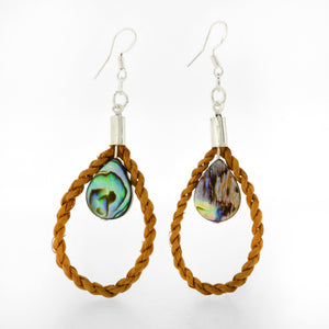 Teardrop Bilaa Earrings by Jaimie Davis, Gitxsan