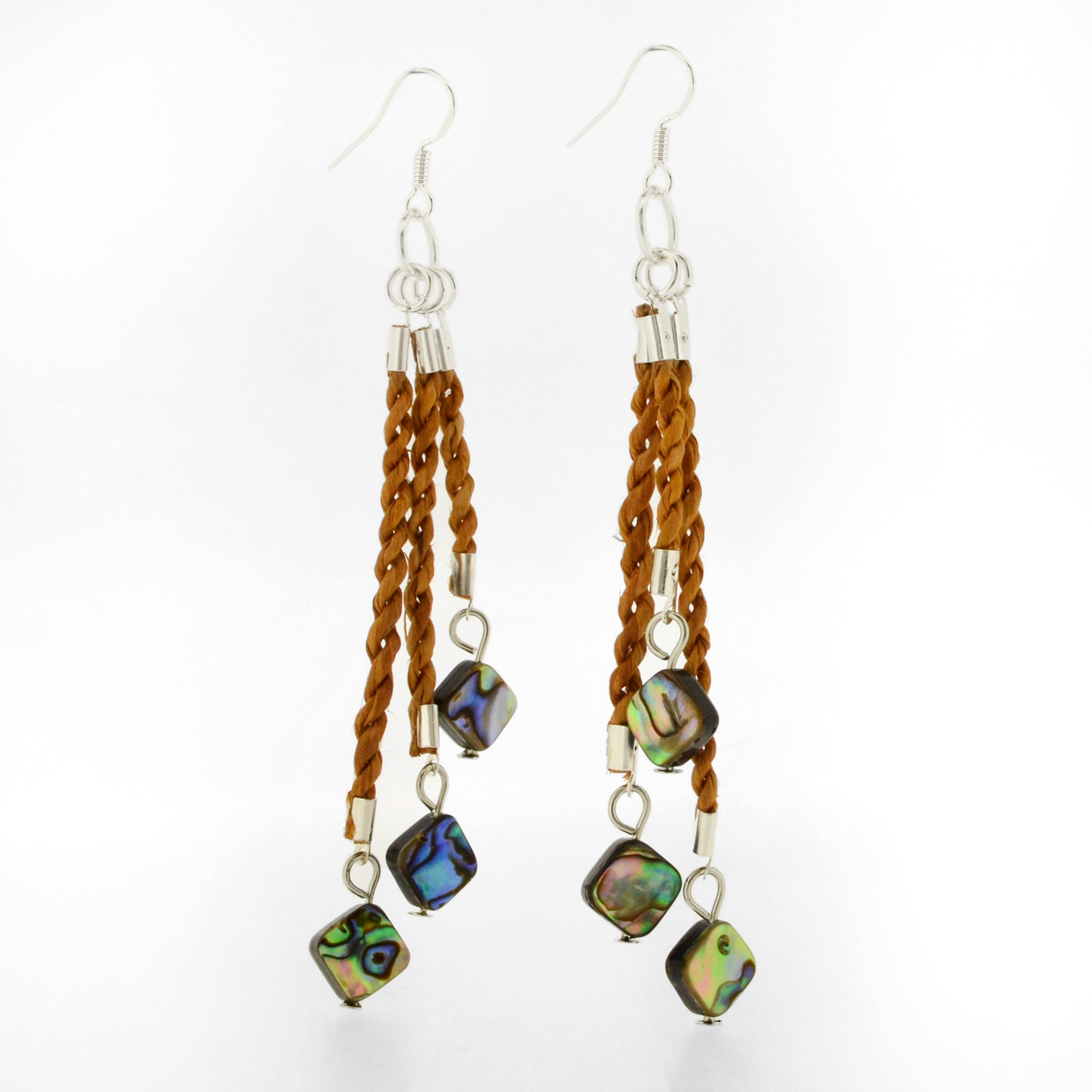 Triple Bilaa Earrings by Jaimie Davis, Gitxsan