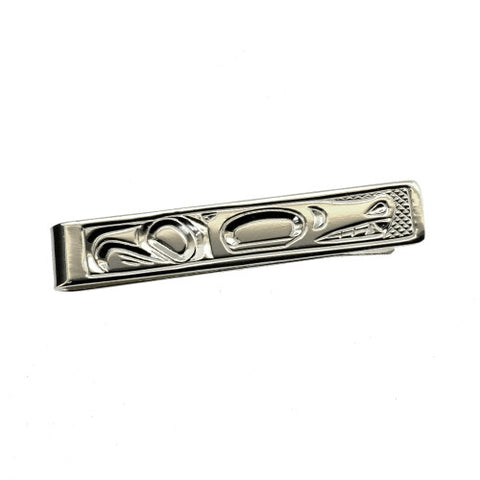 Sterling Silver Tie Bar by Justin Rivard, Cree