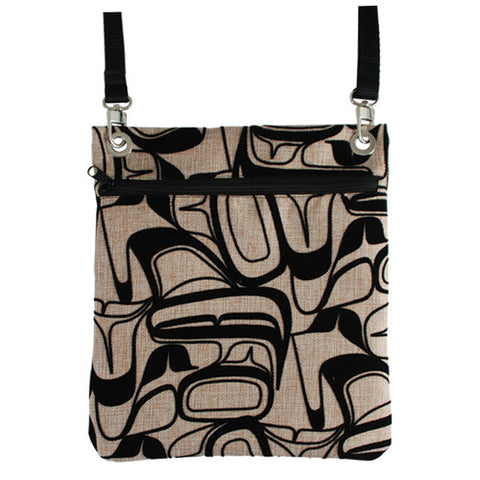 Eagle Abstract - Flocked Town Bag
