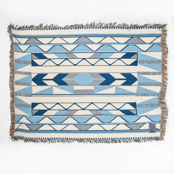 Cotton Tapestry by Debra and Robyn Sparrow, Musqueam