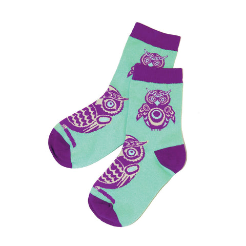 Children's Art Socks by Simone Diamond, Coast Salish