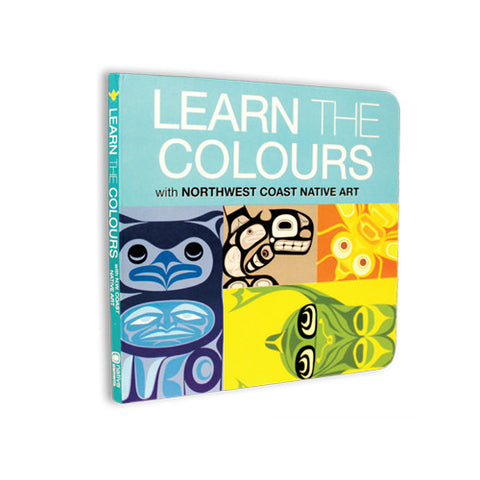 Learn the Colours - Children's Board Book