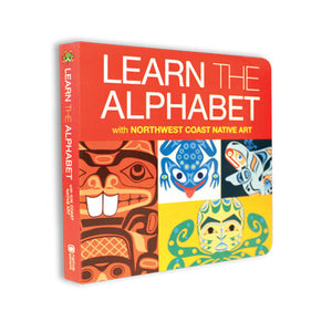 Learn the Alphabet - Children's Board Book