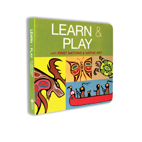 Learn & Play - Children's Board Book