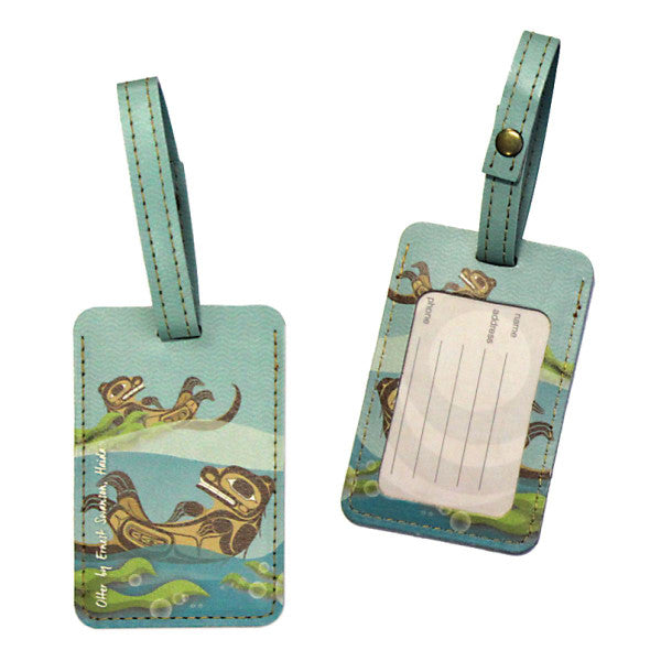 Sea Otter - Luggage Tag