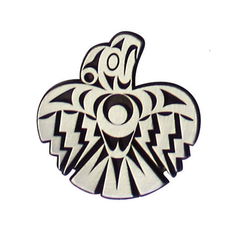 Pewter Magnet by Maynard Johnny Jr., Kwakwaka'wakw