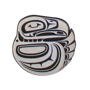 Pewter Magnet by Paul Windsor, Haisla/Heiltsuk