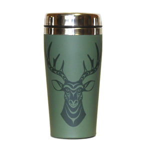 Deer - Matte Travel Mug